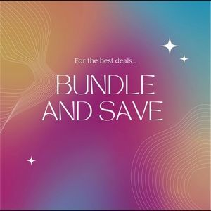 Create bundles and save on shipping and further discounts!